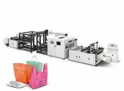 D700 Eco Friendly High Speed Non Woven Handle Bag Carry Bag Making Machine ZXL D700