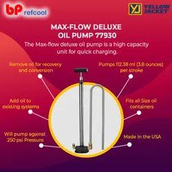 Max Flow Deluxe Oil Pump- Yellow Jacket