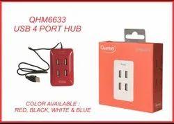 Quantum 4 Port Premium USB Hub