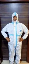 Reusable PPE Covid protection Suit with Taping
