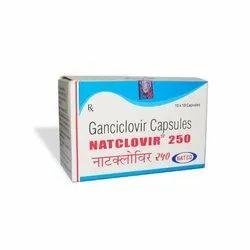 Ganciclovir 250mg Natclovir, 10 X 10 Capsules In One Box, Non prescription