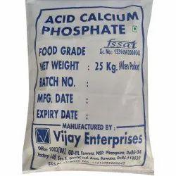 Vijay Enterprises White Acid Calcium Phosphate, Packaging Size: 25 Kg, Grade: Food Grade