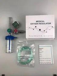 Oxygen Regulator With Flow Meter