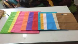 Plain D Cut Non Woven Bags, For Shopping