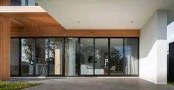 Modern Powder Coated Tostem Aluminium Sliding Door, For Residential