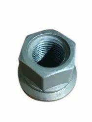 Mild Steel Revolving Hub Nut, For in Tractor Wheel, Size: 32mm
