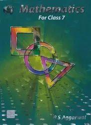 English RS Aggarwal Maths by Bharati Bhawan for Class 7 - Year 2021-22
