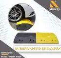 500 x 400 x 75 mm Rubber Speed Breaker