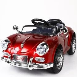 Painted Red 2*6V-4AH Classic Battery Operated Ride On Car