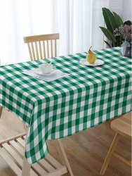 Cotton Lushomes Buffalo Checks Dining Table Cover Cloth