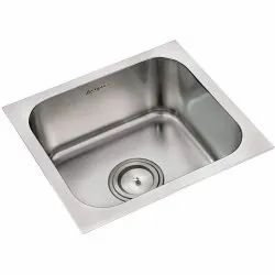 Stainless Steel Silver Single Bowl Kitchen Sink