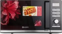 900 Watts Black Koryo Kmc2525 25l Convection Microwave Oven, For Personal