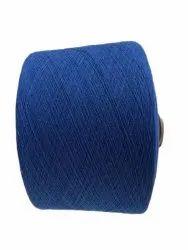蓝色开口捻棉纱,用于织造,支数:10