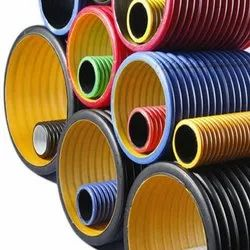 HDPE 95 Mm Id Double Wall Corrugated Pipe, For Construction