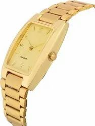 Times Rectangular Mens Watches, For Formal