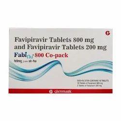 Fabiflu Favipiravir 800 mg tablet