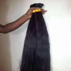 Black Long Indian Human Hair For Women And Girl Cheveux Meche
