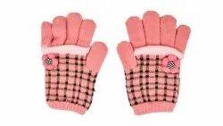 Designer Check Winter Gloves