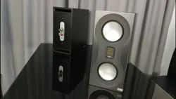 5.1 Black Monitor Audio Studio Standmount Bookshelf Speakers, 120W