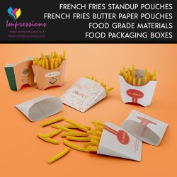 French Fries Pouches