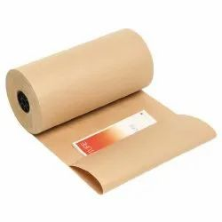 Plain Brown Kraft Paper Roll, For Covering The Books