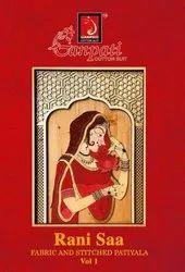 Normal Salwar Multicolor Ganpati Presents Rani Sa Pure Cotton