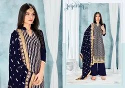 Phillauri 28 By Vellora Heavy Georgette Straight Palazzo Suit At Wholesale Price