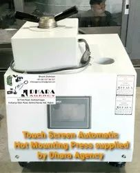 Touch Screen Automatic Hot Mounting Press