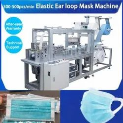 Soft Elastic Ear Loop Mask Face Mask Machine With One Year Warranty Machine By M/s Amarnaathh