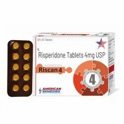 4 mg Risperidone Tablets