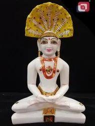 Polyresin Mahavir Statue