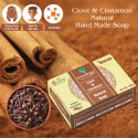 Clove & Cinnamon Hand Made Soap