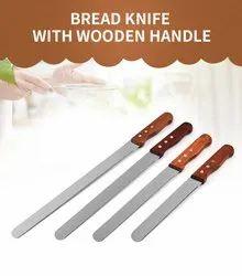 Wooden Handle Bread Knife