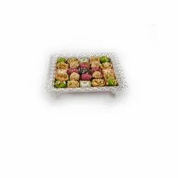 Rectangle Silver Serving Tray