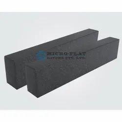 Black Polished 15 MM Granite Parallel, For Industrial