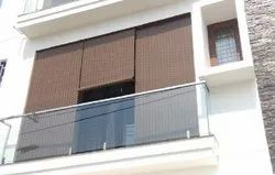Pvc Balcony Blinds