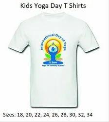 Kids Sizes International Yoga Day T Shirts