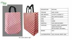 Loop Handle Printed Non Woven Box Bags