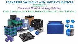 Commercial Returnable Packaging Material Handling And Logistics Services, in Boxes/HDPE