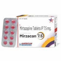 7.5 mg Mirtazapine Tablets