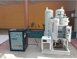 5 HP Air Compressor For Oxygen, Capacity: 24 To 1450 Cfm