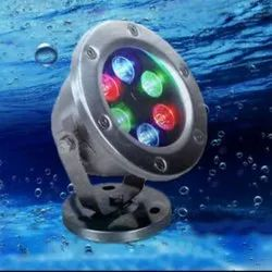 Under Water Fountain Light With Clamp and Base