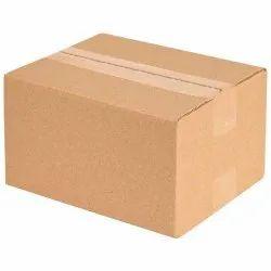Brown Rectangular Carton Corrugated Box, For Electronics