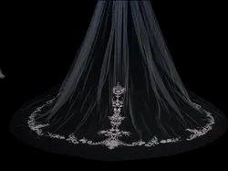 White Net Christian Bridal Veil, Size: Standard