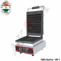 Akasa Stainless Steel Square Waffle Machine, For Commercial