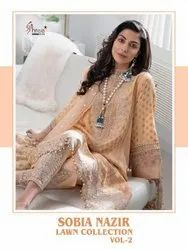Shree Fabs Sobia Nazir Lawn Collection Vol 2 Lawn With Embroidery Pakistani Suit Catalog