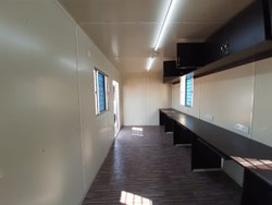 Inside of Portable Office Cabin