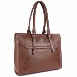 Hammonds Flycatcher Women Leather Laptop Messenger Bag LB211MH, Brushwood