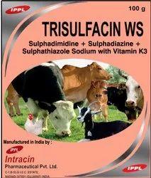 Sulphadimidine Sulphadiazine Sulphathiazole Sodium With Vitamin K3 Powder