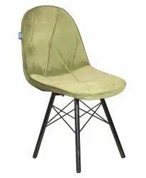 VJ INTERIOR Standard Restaurant Chair In Green Color (VJ-2049), For Home